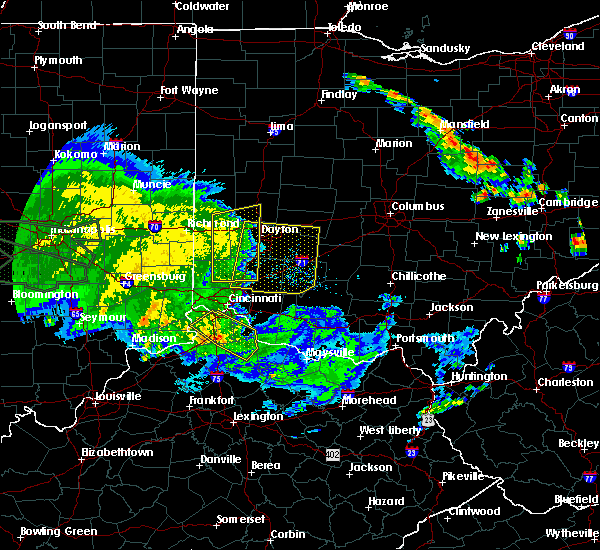Radar Image for Severe Thunderstorms near Cincinnati, OH at 7/11/2017 3:05 PM EDT