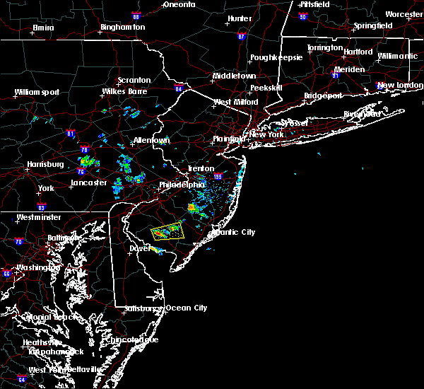 Radar Image for Severe Thunderstorms near Buena, NJ at 7/11/2017 3:04 PM EDT