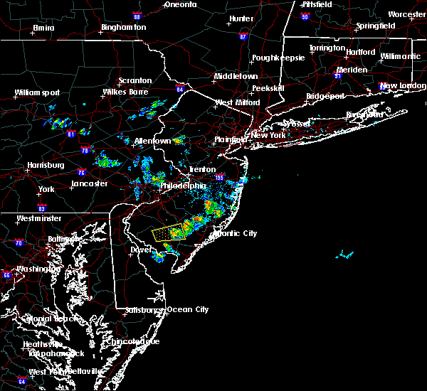 Radar Image for Severe Thunderstorms near Buena, NJ at 7/11/2017 3:28 PM EDT