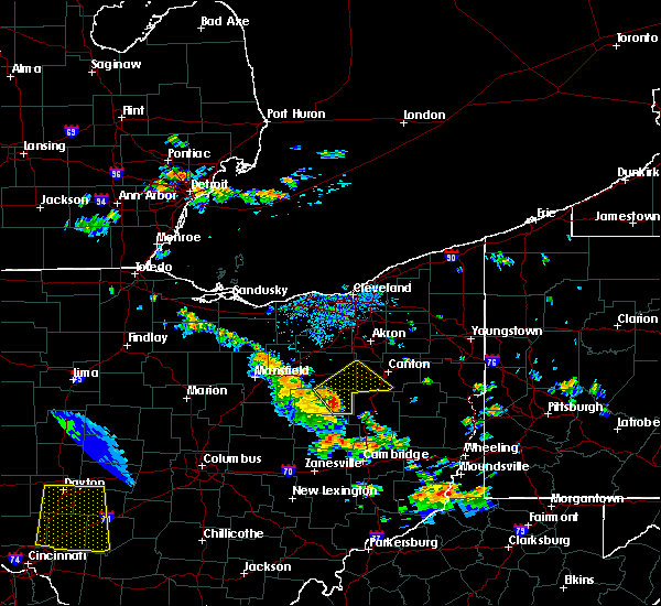 Radar Image for Severe Thunderstorms near North Lawrence, OH at 7/11/2017 3:29 PM EDT