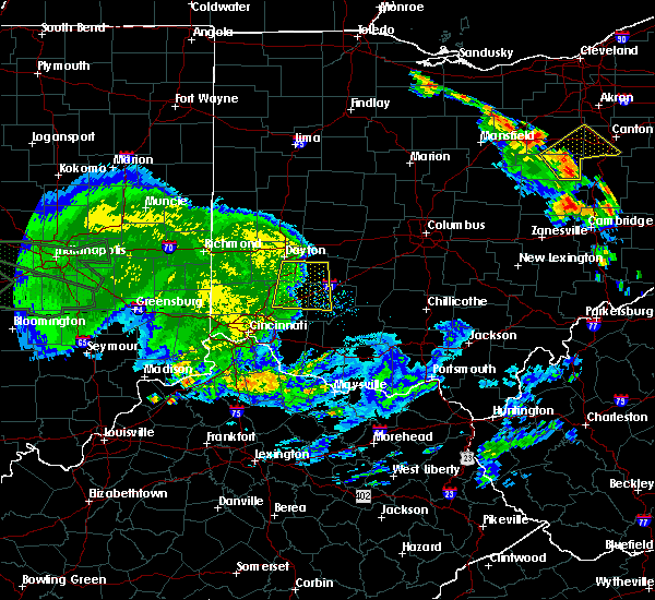 Radar Image for Severe Thunderstorms near Clarksville, OH at 7/11/2017 3:35 PM EDT