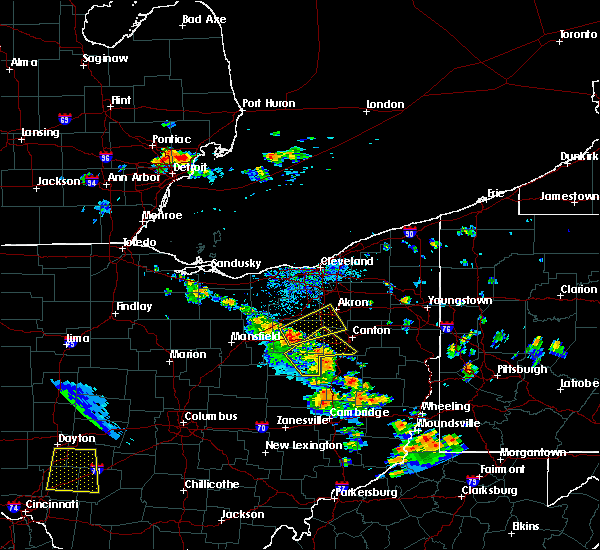 Radar Image for Severe Thunderstorms near North Lawrence, OH at 7/11/2017 3:53 PM EDT