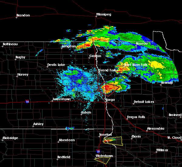 Radar Image for Severe Thunderstorms near Ada, MN at 7/11/2017 8:20 PM CDT