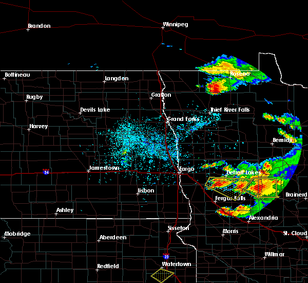 Radar Image for Severe Thunderstorms near Staples, MN at 7/11/2017 10:52 PM CDT