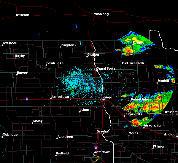 Radar Image for Severe Thunderstorms near Perham, MN at 7/11/2017 11:04 PM CDT