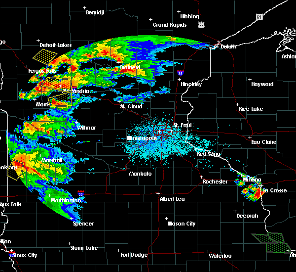 Radar Image for Severe Thunderstorms near Westport, MN at 7/11/2017 11:44 PM CDT