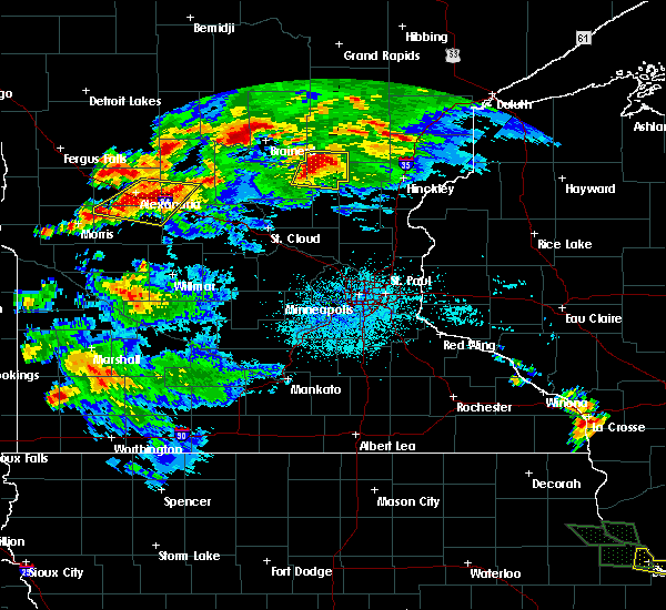 Radar Image for Severe Thunderstorms near Farwell, MN at 7/12/2017 12:15 AM CDT