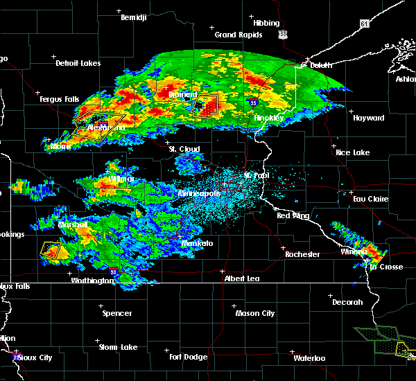 Radar Image for Severe Thunderstorms near West Union, MN at 7/12/2017 12:39 AM CDT