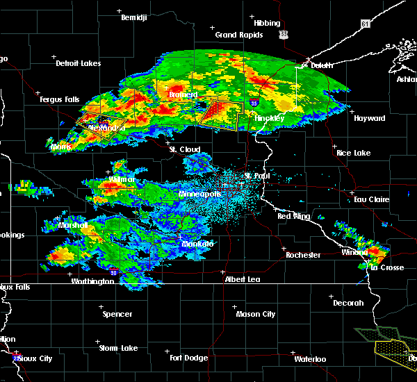 Radar Image for Severe Thunderstorms near Forada, MN at 7/12/2017 12:48 AM CDT