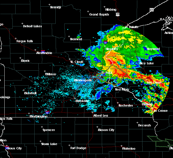 Radar Image for Severe Thunderstorms near St. Marys Point, MN at 7/12/2017 2:51 AM CDT