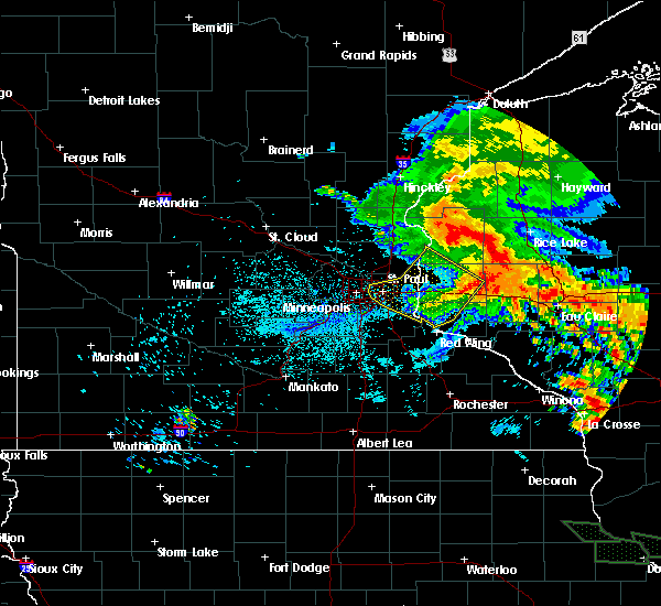 Radar Image for Severe Thunderstorms near St. Marys Point, MN at 7/12/2017 3:13 AM CDT