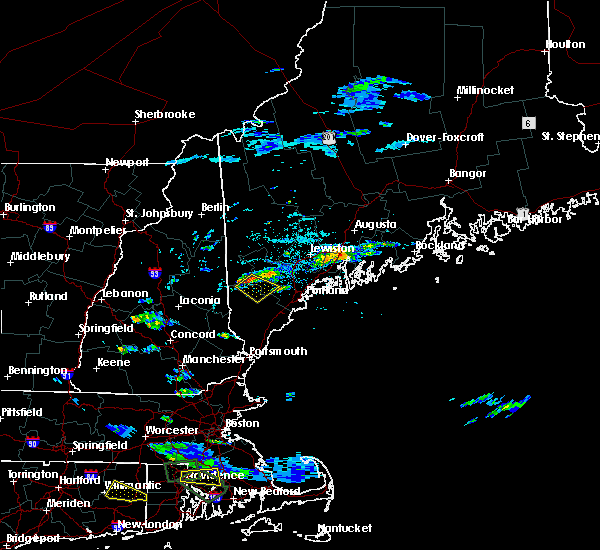 Radar Image for Severe Thunderstorms near Standish, ME at 7/12/2017 3:31 PM EDT