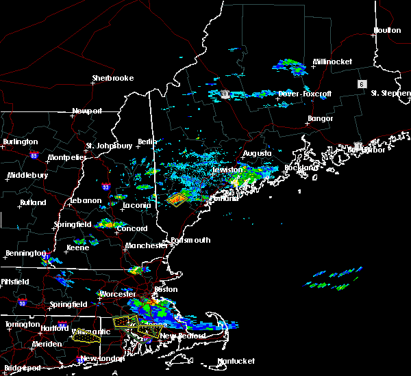 Radar Image for Severe Thunderstorms near Standish, ME at 7/12/2017 4:05 PM EDT