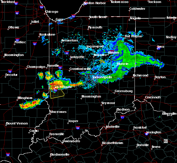 Radar Image for Severe Thunderstorms near Dresser, IN at 7/12/2017 6:59 PM EDT