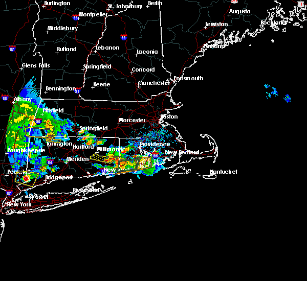 Interactive Hail Maps - Hail Map for Norwich, CT