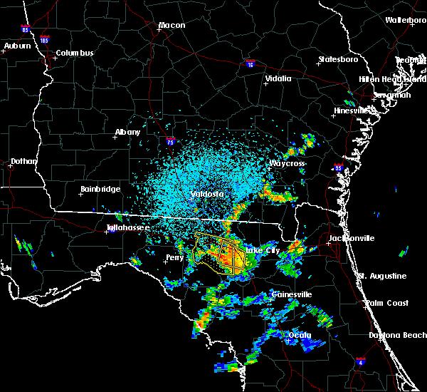 Radar Image for Severe Thunderstorms near Live Oak, FL at 7/13/2017 3:20 PM EDT