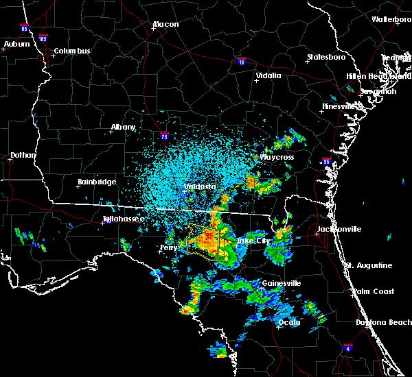 Radar Image for Severe Thunderstorms near Live Oak, FL at 7/13/2017 3:34 PM EDT