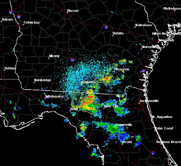 Radar Image for Severe Thunderstorms near Madison, FL at 7/13/2017 3:57 PM EDT