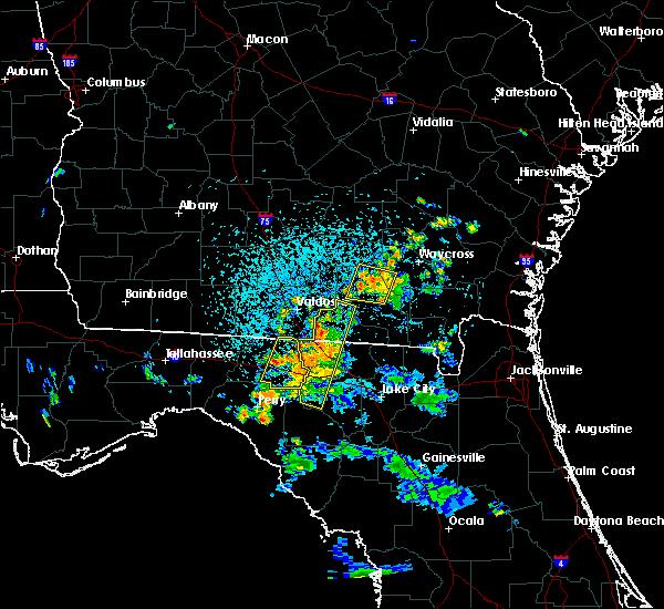 Radar Image for Severe Thunderstorms near Madison, FL at 7/13/2017 4:16 PM EDT