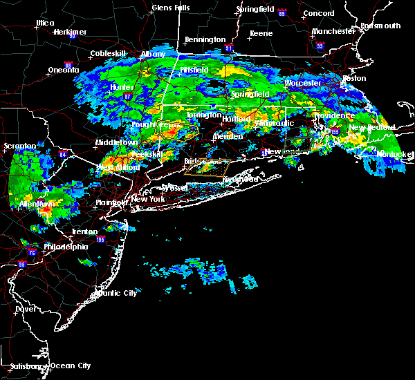 Radar Image for Severe Thunderstorms near Waterbury, CT at 7/13/2017 4:24 PM EDT