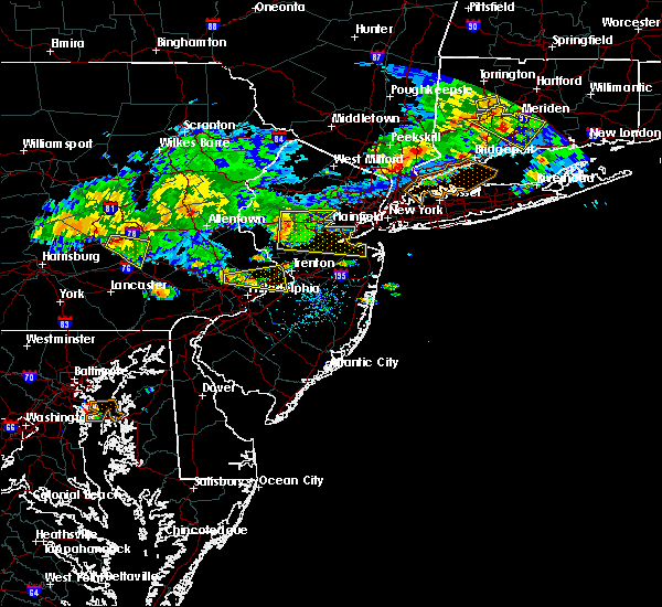 Radar Image for Severe Thunderstorms near Heathcote, NJ at 7/13/2017 4:56 PM EDT