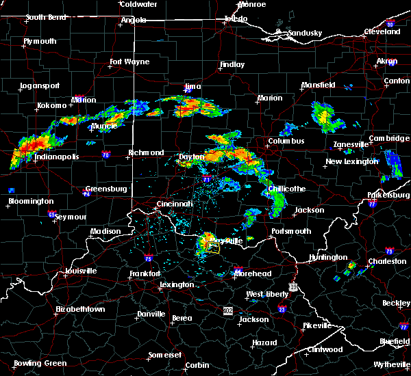 Radar Image for Severe Thunderstorms near Aberdeen, OH at 7/13/2017 5:54 PM EDT