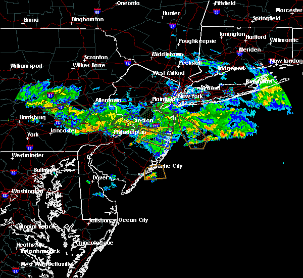 Radar Image for Severe Thunderstorms near Browns Mills, NJ at 7/13/2017 6:50 PM EDT