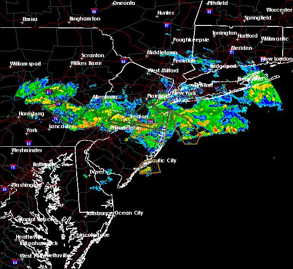 Radar Image for Severe Thunderstorms near Silver Ridge, NJ at 7/13/2017 6:50 PM EDT