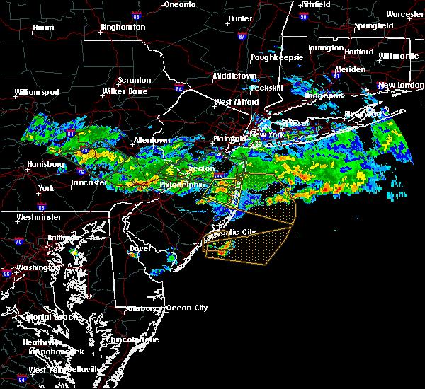 Radar Image for Severe Thunderstorms near Silver Ridge, NJ at 7/13/2017 7:08 PM EDT