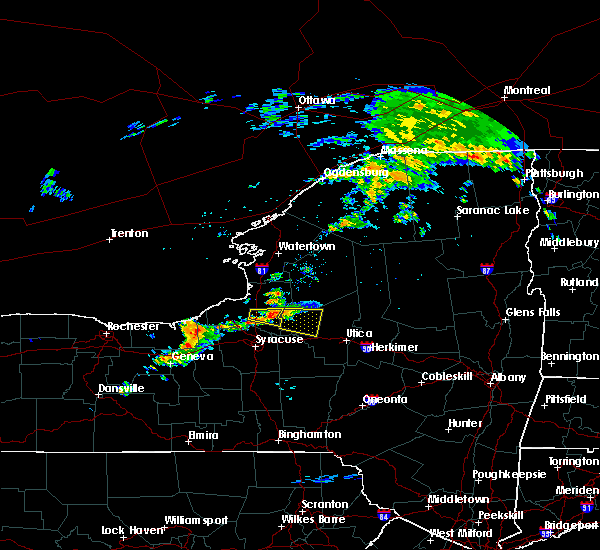 Radar Image for Severe Thunderstorms near Rome, NY at 7/14/2017 1:29 PM EDT