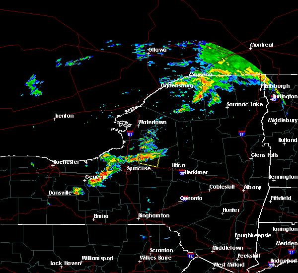 Radar Image for Severe Thunderstorms near Rome, NY at 7/14/2017 2:08 PM EDT