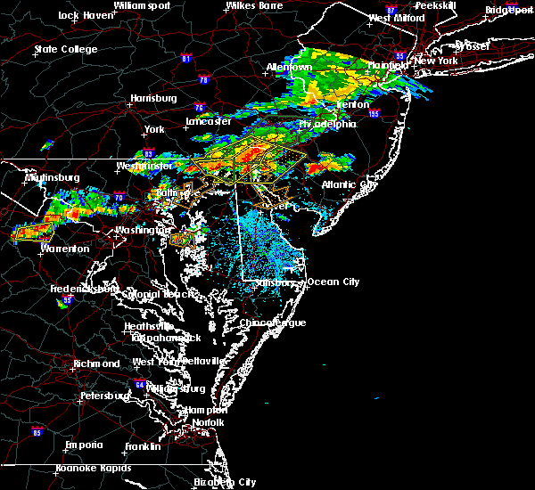 Radar Image for Severe Thunderstorms near Bear, DE at 7/14/2017 3:27 PM EDT