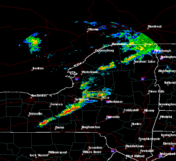 Radar Image for Severe Thunderstorms near Rome, NY at 7/14/2017 3:31 PM EDT