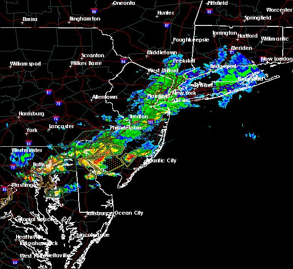Radar Image for Severe Thunderstorms near Turnersville, NJ at 7/14/2017 4:11 PM EDT