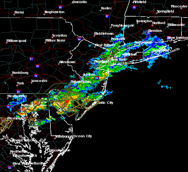 Radar Image for Severe Thunderstorms near Turnersville, NJ at 7/14/2017 4:26 PM EDT