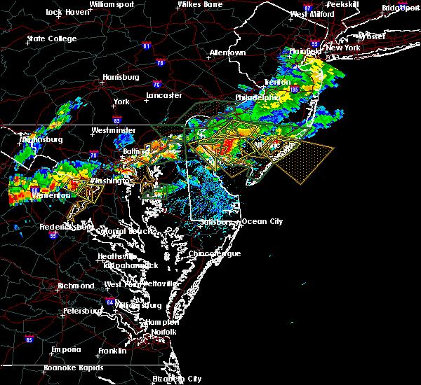 Radar Image for Severe Thunderstorms near Turnersville, NJ at 7/14/2017 4:27 PM EDT