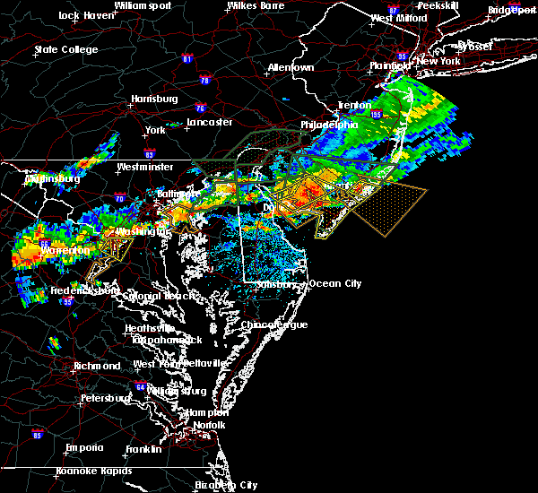 Radar Image for Severe Thunderstorms near Buena, NJ at 7/14/2017 4:48 PM EDT