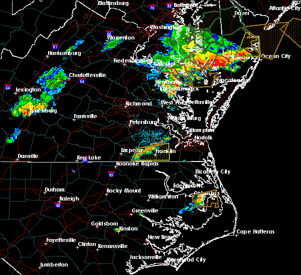 Radar Image for Severe Thunderstorms near Windsor, VA at 7/14/2017 7:24 PM EDT