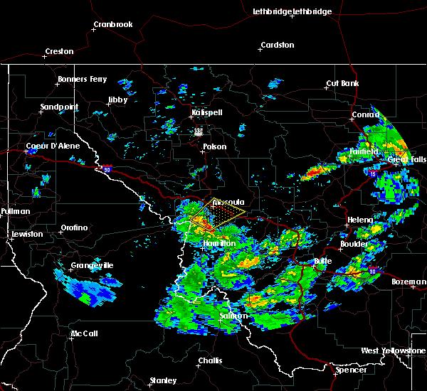 Radar Image for Severe Thunderstorms near Piltzville, MT at 7/15/2017 5:02 PM MDT