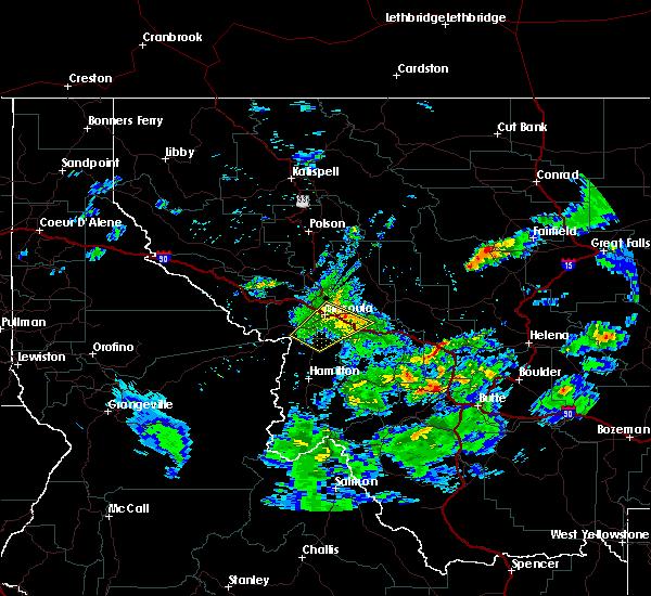 Radar Image for Severe Thunderstorms near Piltzville, MT at 7/15/2017 5:42 PM MDT