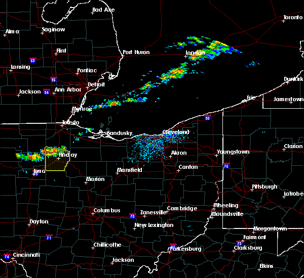 Radar Image for Severe Thunderstorms near Bluffton, OH at 7/16/2017 4:59 PM EDT