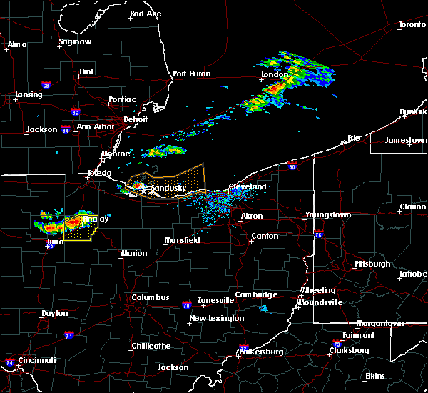 Radar Image for Severe Thunderstorms near Findlay, OH at 7/16/2017 5:29 PM EDT
