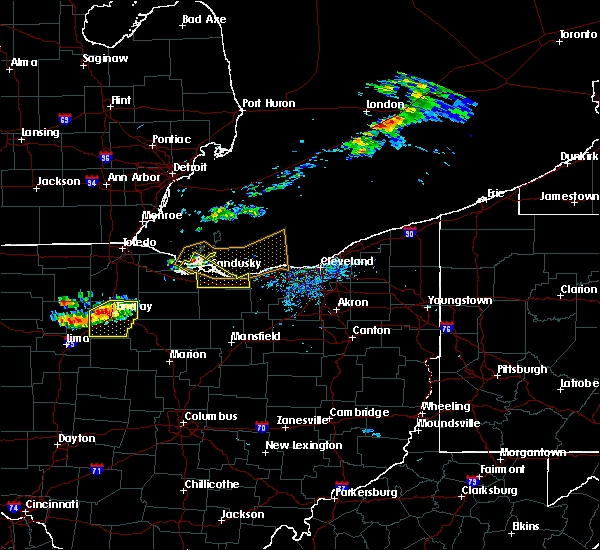 Radar Image for Severe Thunderstorms near Port Clinton, OH at 7/16/2017 5:36 PM EDT