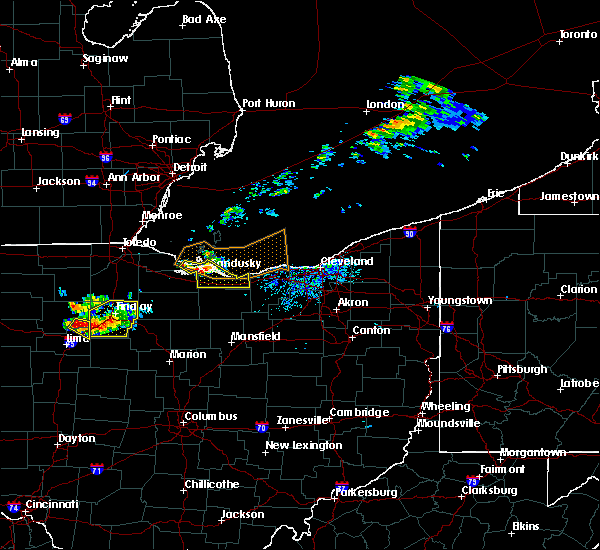 Radar Image for Severe Thunderstorms near Port Clinton, OH at 7/16/2017 5:57 PM EDT