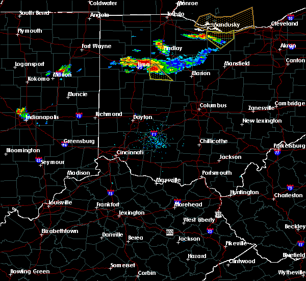 Radar Image for Severe Thunderstorms near Alger, OH at 7/16/2017 7:04 PM EDT