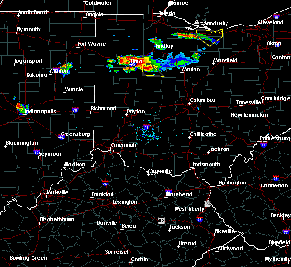 Radar Image for Severe Thunderstorms near Alger, OH at 7/16/2017 7:19 PM EDT