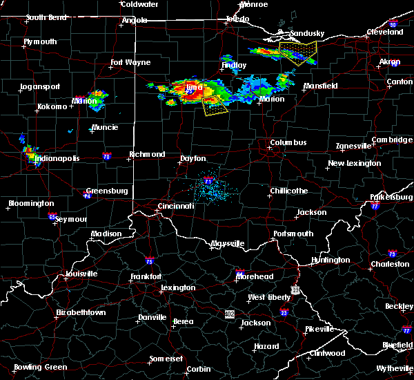 Radar Image for Severe Thunderstorms near Ridgeway, OH at 7/16/2017 7:32 PM EDT