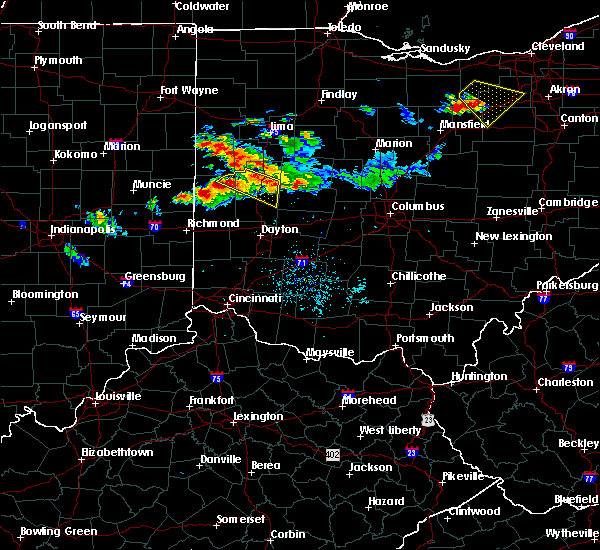 Radar Image for Severe Thunderstorms near Piqua, OH at 7/16/2017 9:18 PM EDT