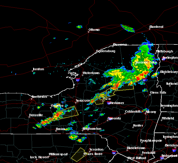 Radar Image for Severe Thunderstorms near Rome, NY at 7/17/2017 12:47 PM EDT