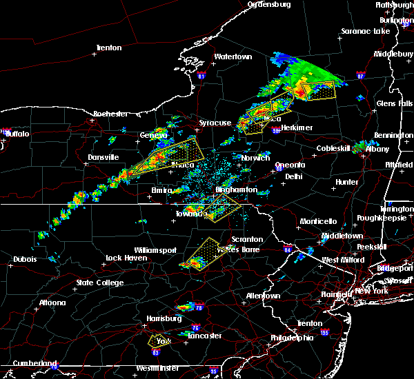 Radar Image for Severe Thunderstorms near Oakland, PA at 7/17/2017 1:11 PM EDT